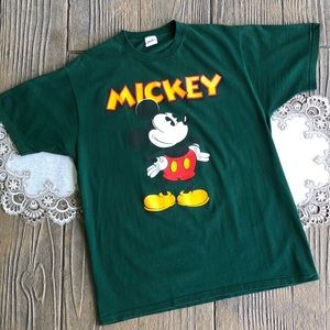 Vintage 80s Velva Sheen Mickey Mouse Tshirt